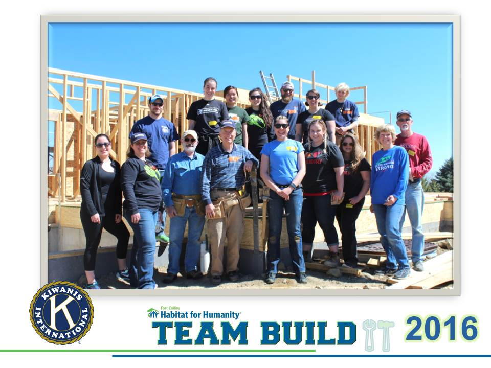 2016 Habitat For Humanity Team Build Fort Collins Eyeopeners