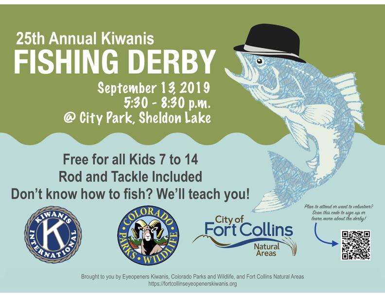 2019 Fishing Derby – Fort Collins Eyeopeners Kiwanis Club